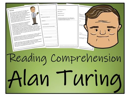 UKS2 History - Alan Turing Reading Comprehension Activity