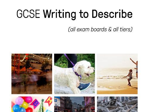 GCSE Writing to Describe Revision Booklet