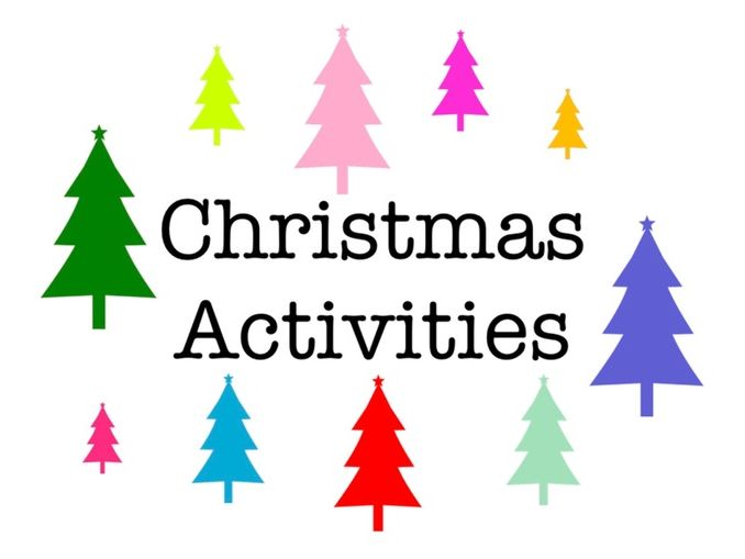 7 varied Christmas themed activities with supporting powerpoint.