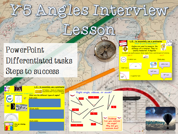 Y5 Outstanding Angles Maths Interview Lesson