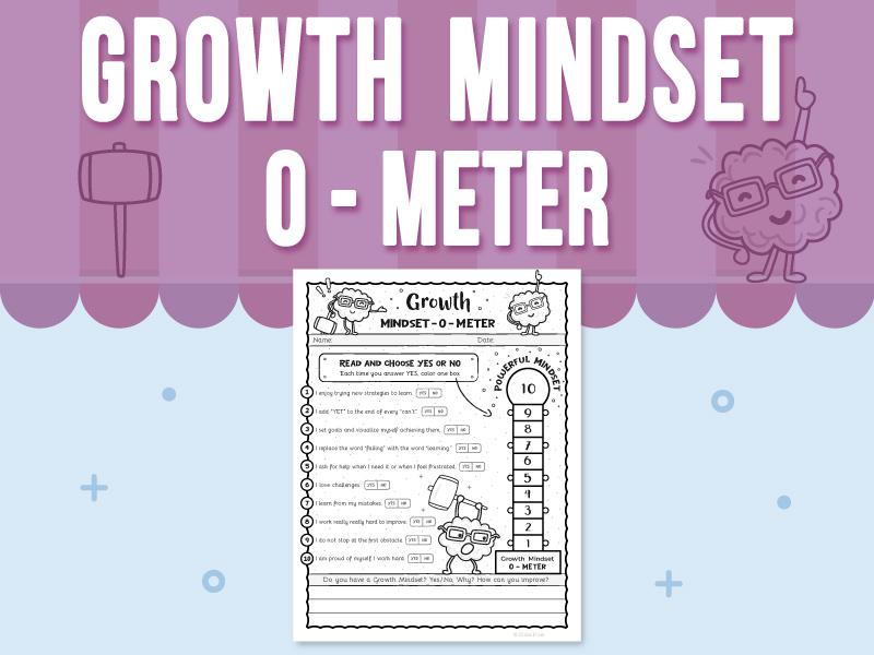 Growth Mindset - O - Meter