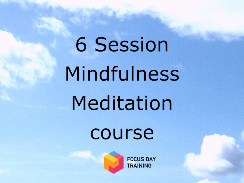 Mindfulness course - 6 sessions