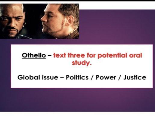IB Literature - Othello