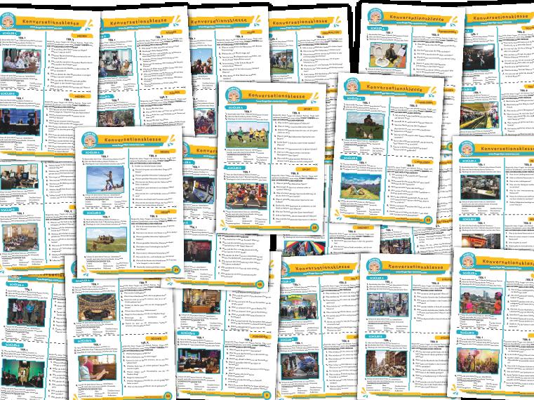 20 x German Speaking Bundle (Pack 1)