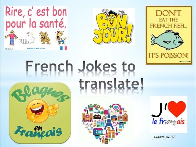 French Translations- Jokes!