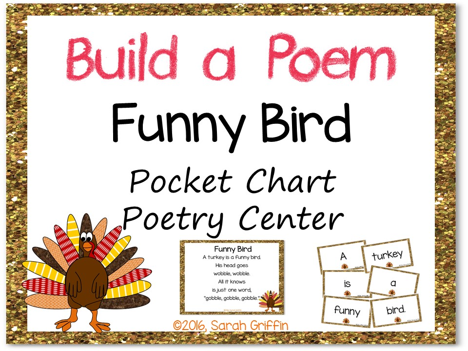 Build a Poem - Funny Bird - Thanksgiving turkey poem for kids