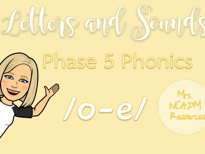 Phase 5a Phonics /o-e/ resource pack (Letters & Sounds)
