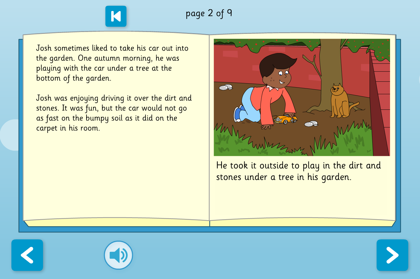 Josh's Favourite Toy Interactive Storybook - Reading Level A - KS1 Literacy
