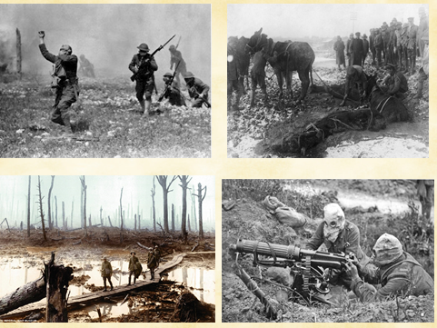 What were conditions like in the trenches