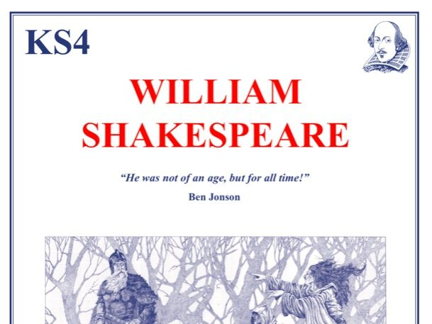 The Shakespeare Pack Scheme of Work