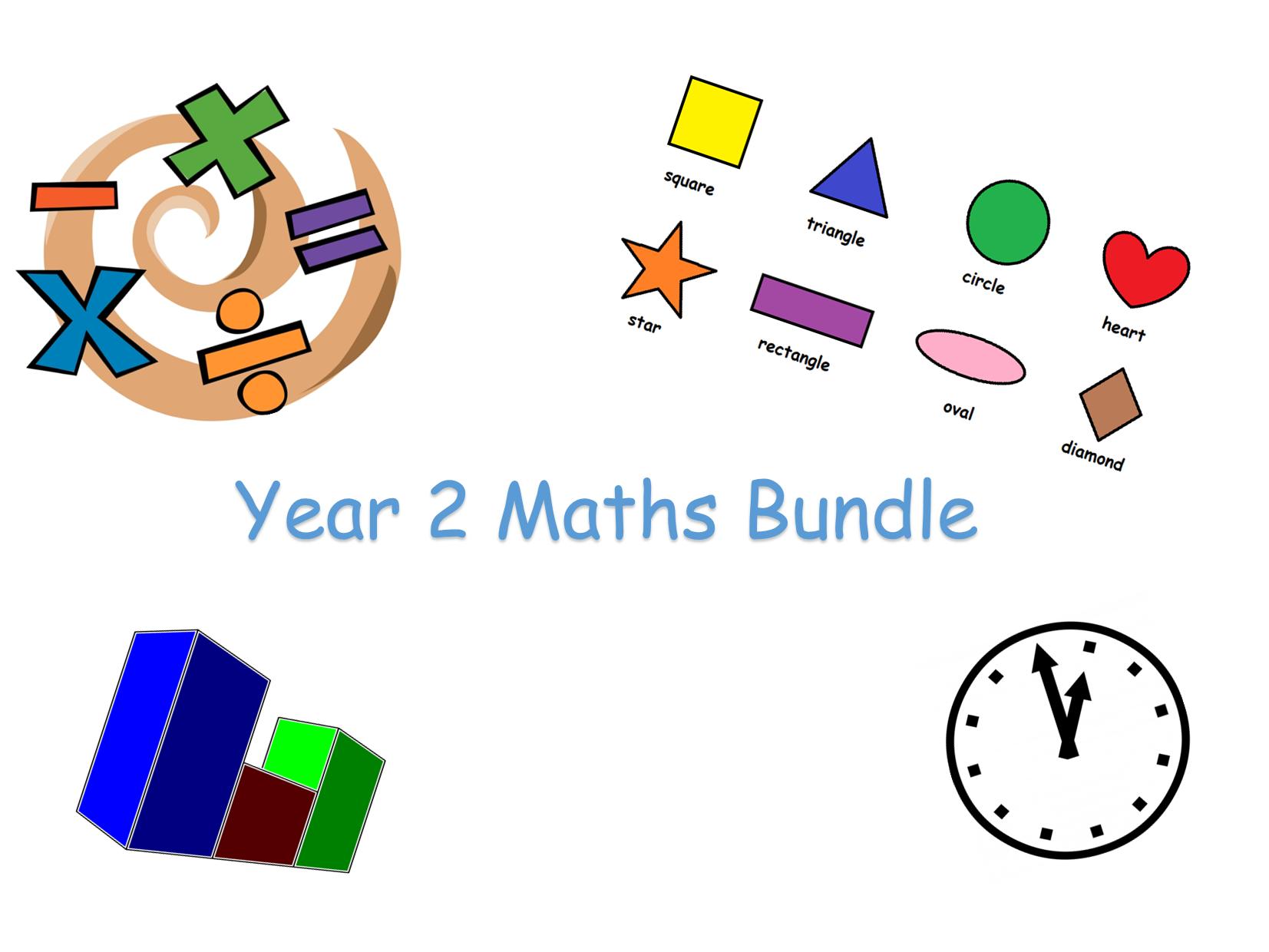 Year 2 Maths Bundle