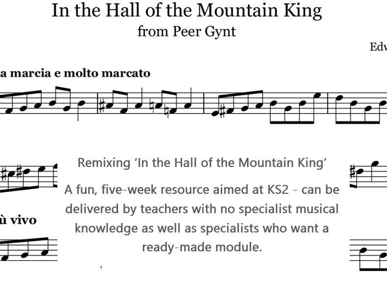 Remixing classical music, 5 lessons, KS2