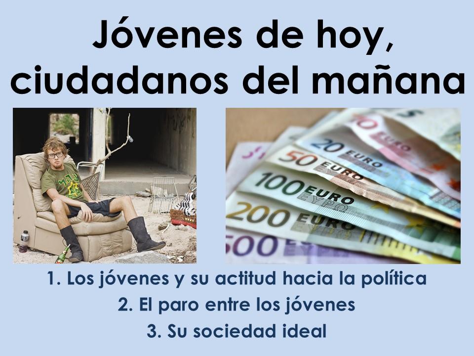 AQA New A Level Spanish Jóvenes de hoy - Introducción