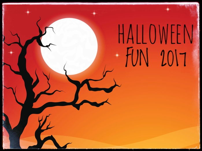 Halloween Fun Activities 2017.