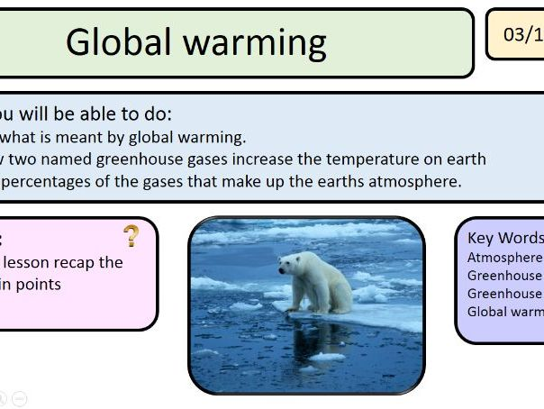 New Activate AQA 2 Earth free example lesson Global warming