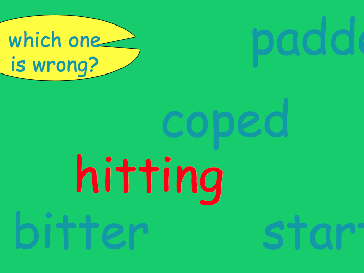 Spelling Presentation: Doubling