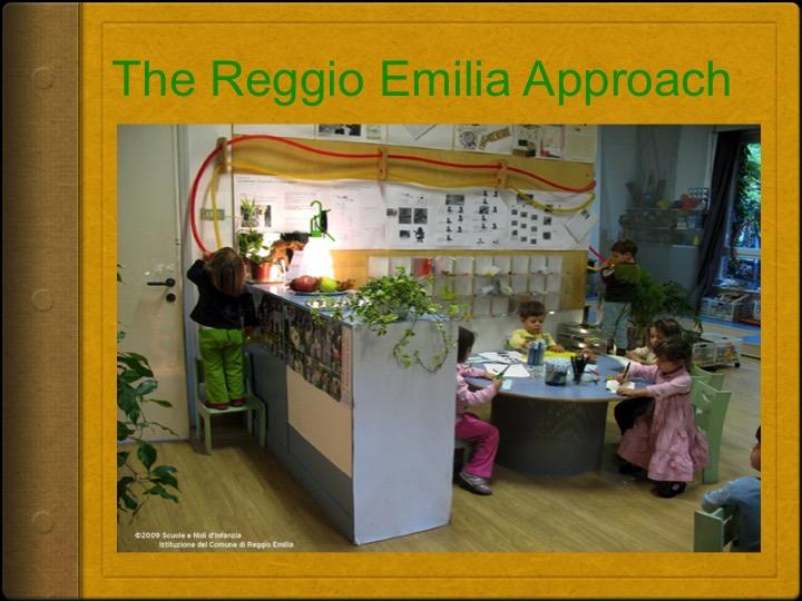 Reggio Emilia Approach to Early Years Teaching