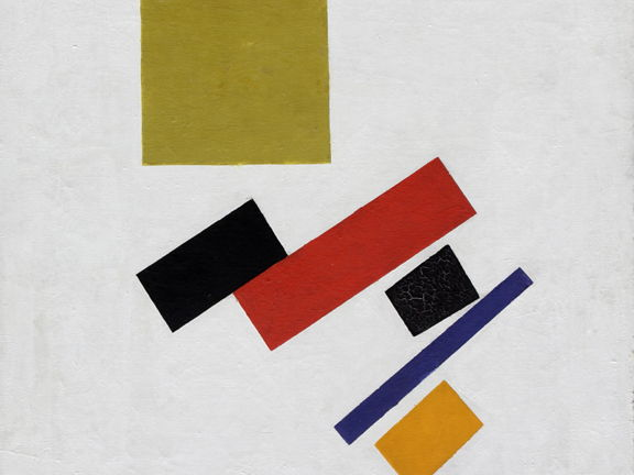 Suprematism described: Russian modern art-movement explained + images - free resource: modern art