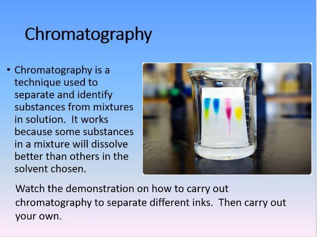 4.1.1.2 Mixtures - Fractional Distillation and chromatography