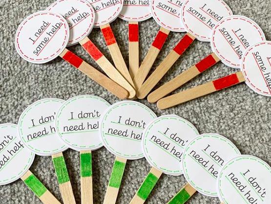 Support Lollipop Sticks