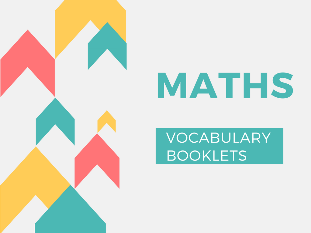 Maths Vocabulary Booklets