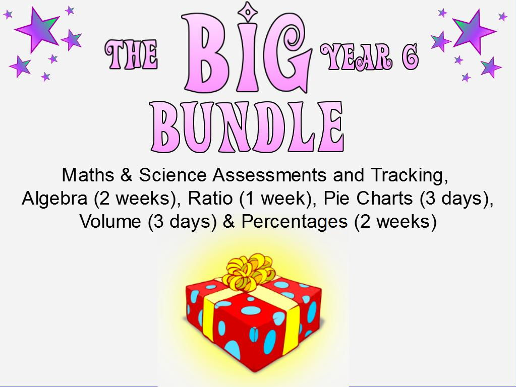 The BIG Year 6 Maths Pack