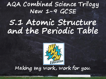 AQA Combined Science Trilogy: 5.1 Atomic Structure and the Periodic Table Quiz