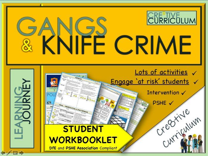 County Lines and Gangs Intervention Booklet