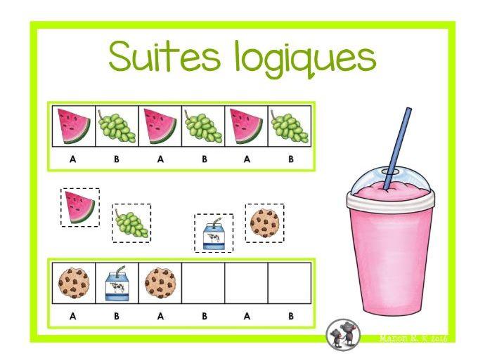 Suites logiques (alimentation)