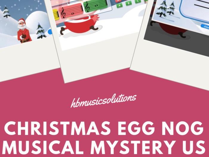 Christmas Egg Nog Music Mystery US Version