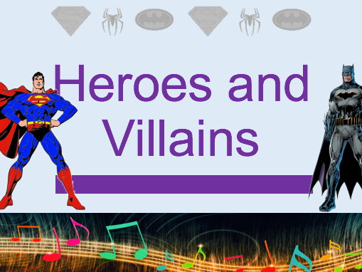 Heroes and Villains Composition - SoW