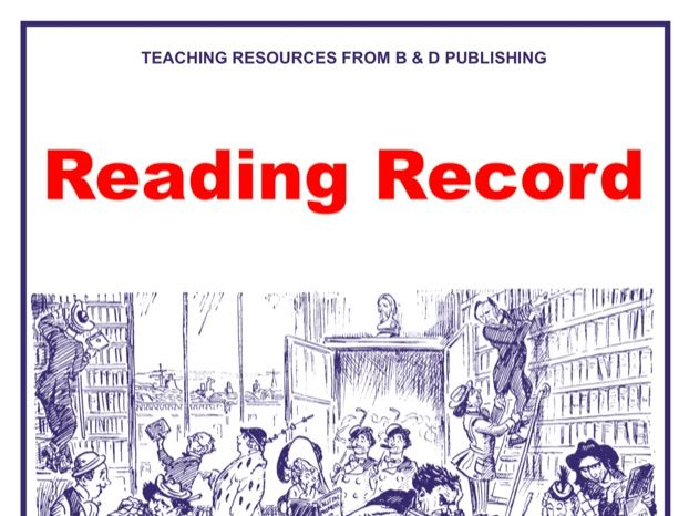 Reading Record Scheme of Work for Library Lessons