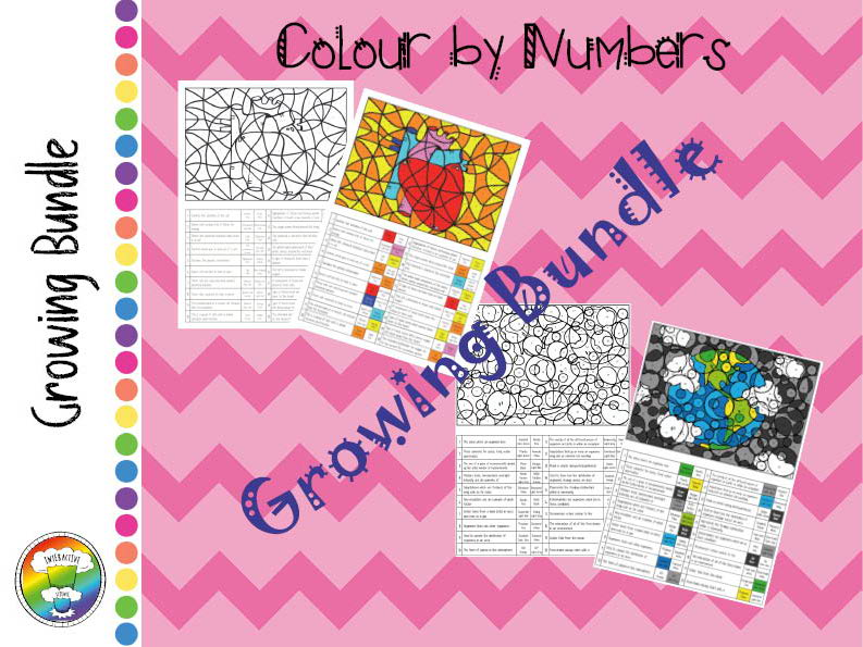 Colour by Numbers GROWING BUNDLE