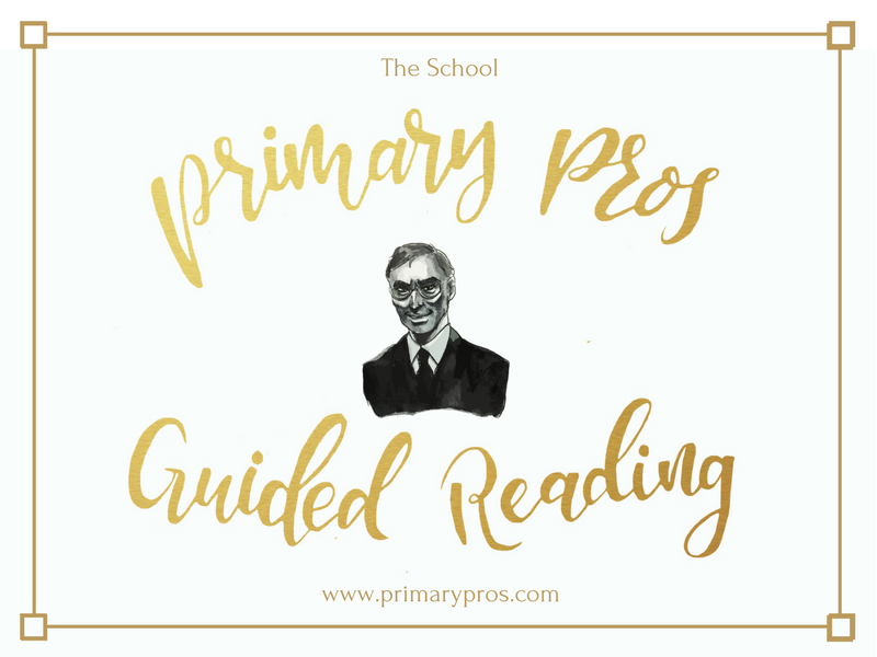Year 3 & 4 Guided Reading Text - The School