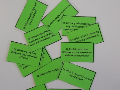 Psychology AS Revision Cards - for all 6 first year topics (AQA - New 2015 spec)