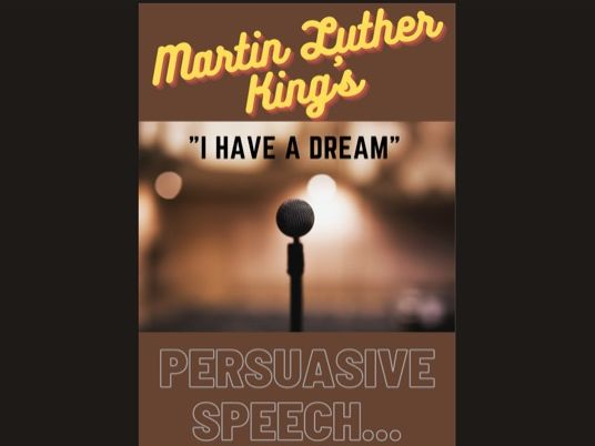 """Martin Luther King ~ Persuasive Speech - """"I have a Dream"""" - IGCSE / GCSE 100% Top Students'  Answer"""
