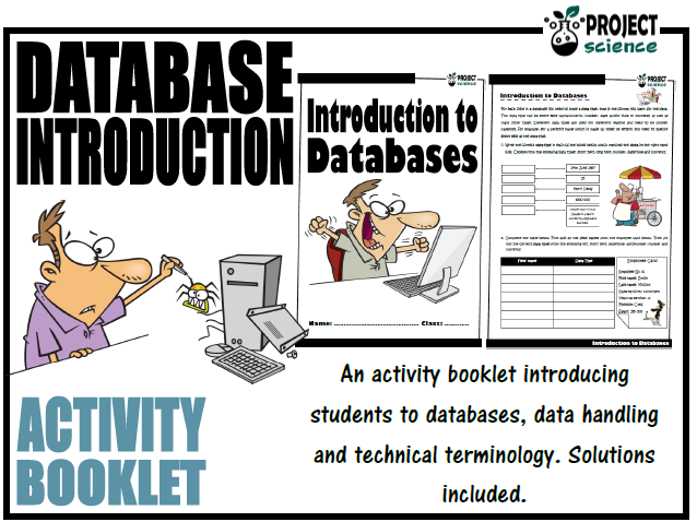 Introduction to Databases Activity Booklet