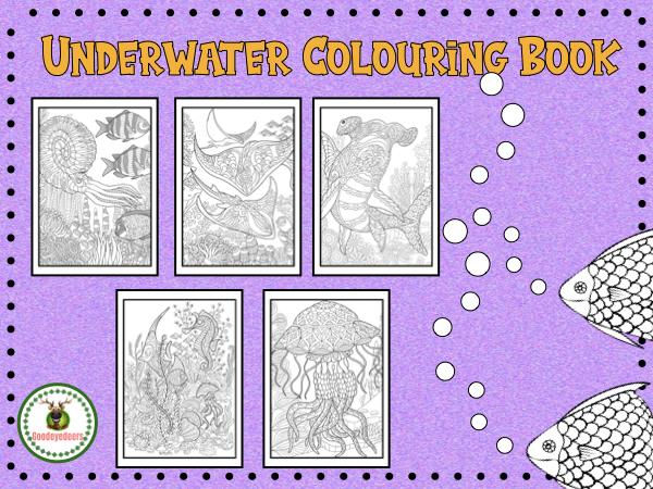 Underwater Colouring Book