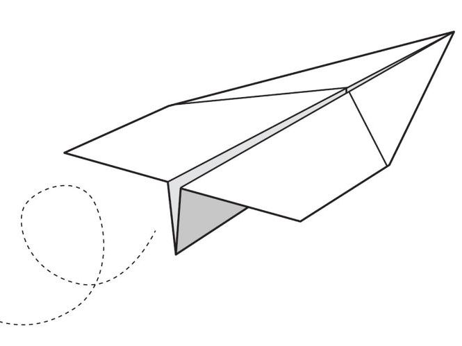 The Story of a Piece of Paper.  Aeroplane activities and mark-making.