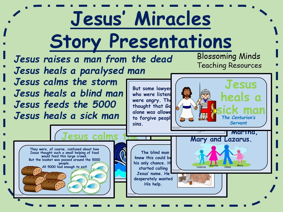Jesus' Miracles Story Presentations