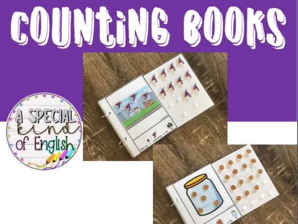 Counting books - Interactive, Symbol Supported