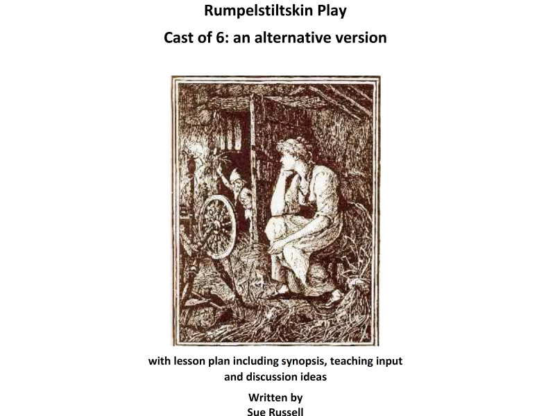 Rumpelstiltskin play or guided reading script