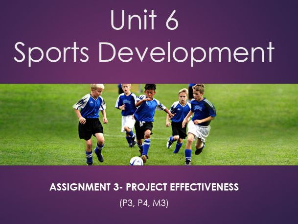 unit 6 btec sport alevels Ahh help really need some help and advice i am delivering unit 6 sports development for the first time i am delivering assignment 3 describe the.