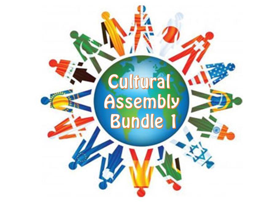 Cultural Holidays Assembly Bundle 1