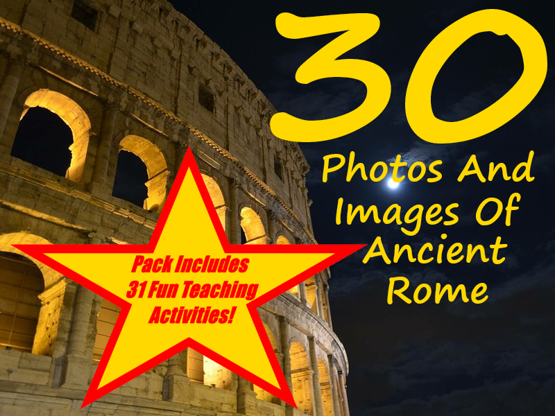 Ancient Rome - PowerPoint + 31 Different Ways Of Using This Teaching Resource In The Classroom