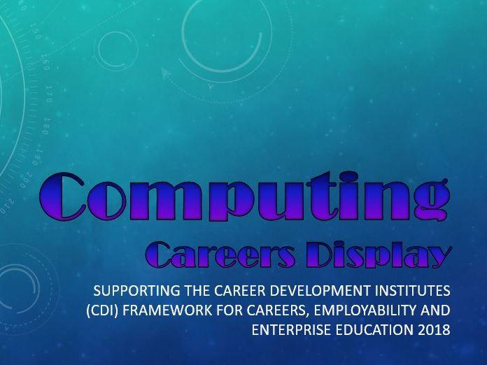 Computing Careers Display