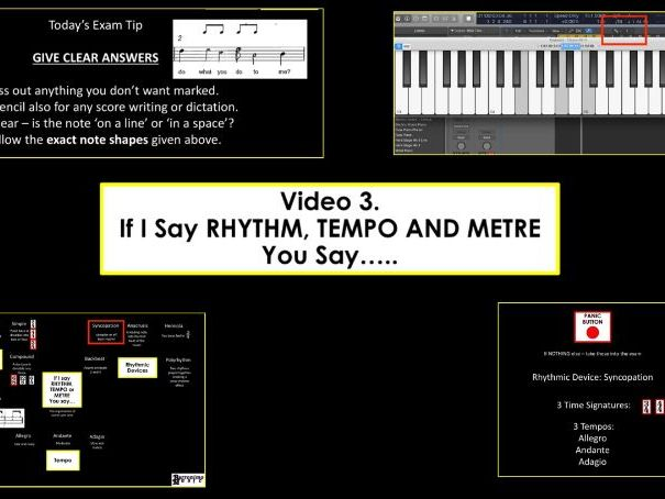 AQA Music Exam Buster - I Say, You Say - Rhythm