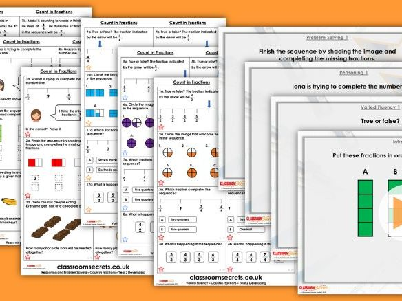 Year 1/2 Mixed Age Spring Block 2 Step 12 Maths Lesson Pack