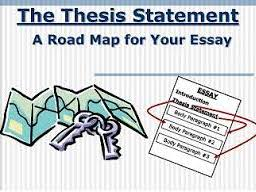 Writing a Thesis Statement Graphic Organizers (Includes Example Responses)