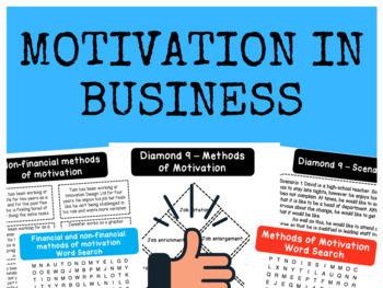 Motivation in Business - Bundle